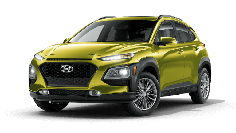 2020 Hyundai Kona SEL Plus - Lime Twist