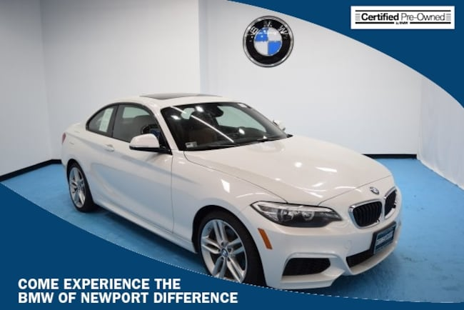 Certified PreOwned BMW I For Sale In Middletown RI - Bmw 228i