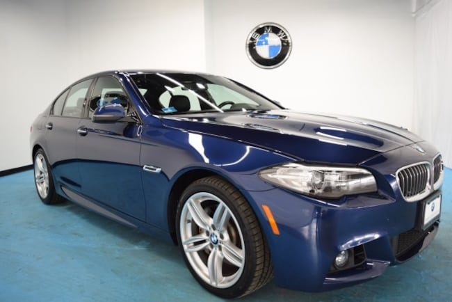 Certified Pre-Owned 2016 BMW 535i xDrive Sedan for sale in Middletown, RI