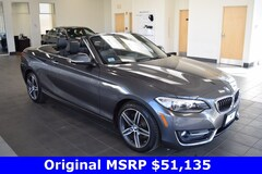 Certified Pre-Owned 2017 BMW 230i xDrive Convertible WBA2M9C32HV985582 for Sale in Middletown