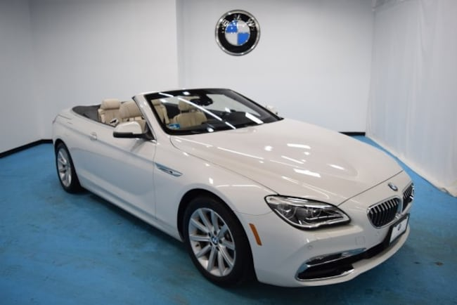 Certified Pre-Owned 2016 BMW 640i xDrive Convertible for sale in Middletown, RI