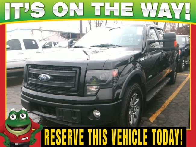 2013 Ford F-150 FX4  - 4WD - TOW PACKAGE - MOON ROOF Truck SuperCrew Cab