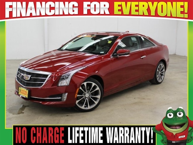 2015 CADILLAC ATS 2.0L Turbo Luxury  - AWD - REMOTE START - MOON ROO Coupe