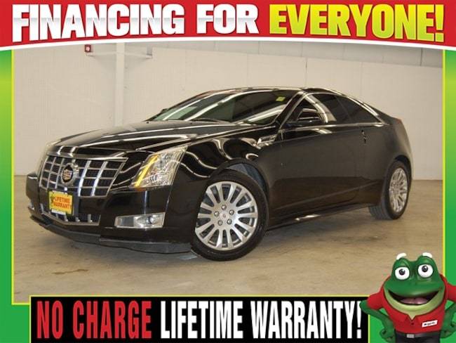 2013 CADILLAC CTS Premium   - AWD - MOON ROOF -  NAVIGATION Coupe