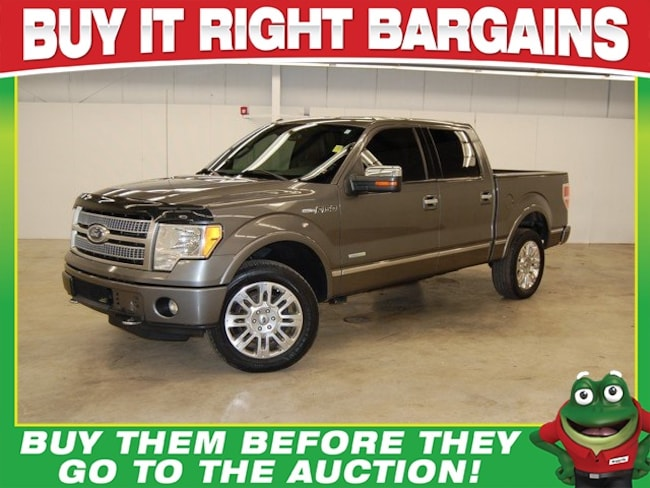 2011 Ford F-150 Platinum  - 4WD - MOON ROOF - NAVIGATION - REMOTE Truck SuperCrew Cab
