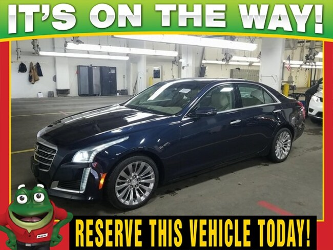 2016 CADILLAC CTS 2.0L Turbo Luxury  - AWD - PANORAMIC MOON ROOF - R Sedan