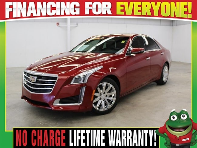 2016 CADILLAC CTS 2.0L Turbo  - MOON ROOF - REMOTE START - BACK UP C Sedan