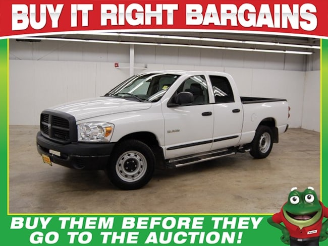 2008 Dodge Ram 1500 ST  - TOW PACKAGE - RUNNING BOARDS Truck Quad Cab