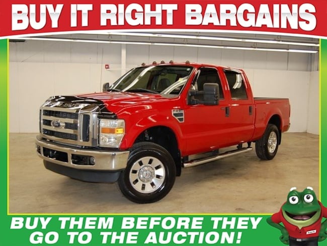 2008 Ford F-250 XLT  - 4WD - TOW PACKAGE Truck Crew Cab