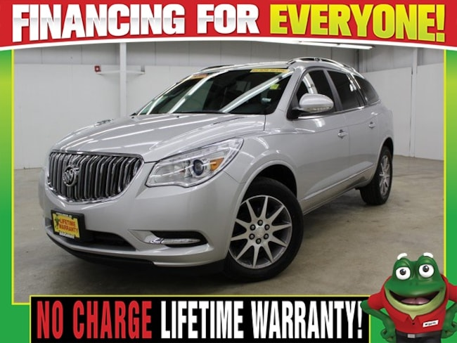 2014 Buick Enclave Leather Group  - REMOTE START - 3RD ROW - BACK UP SUV