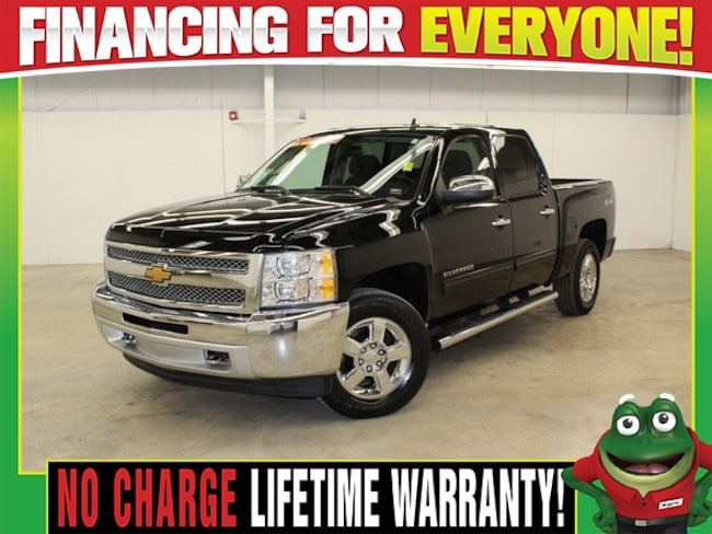 2013 Chevrolet Silverado 1500 LT  - 4X4 - REMOTE START - BACK UP CAMERA Truck Crew Cab