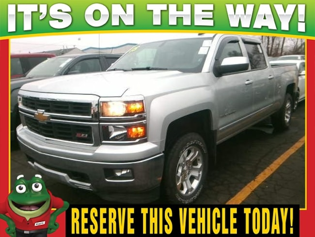 2015 Chevrolet Silverado 1500 LT  - 4WD - TOW PACKAGE - BACK UP CAMERA Truck Crew Cab