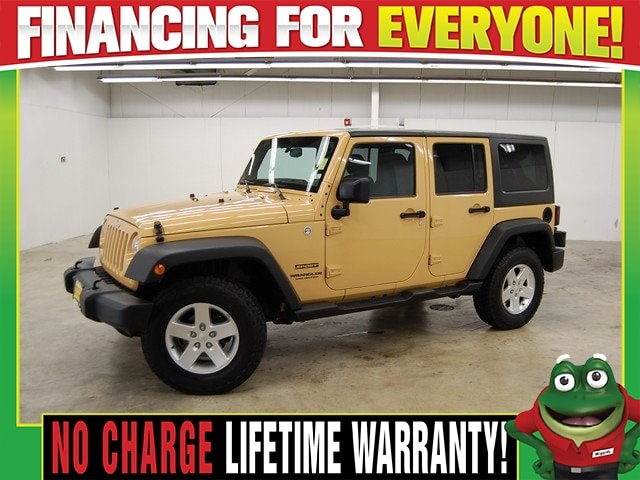 Used 2014 Jeep Wrangler Unlimited SUV Unlimited Sport   4X4   RUNNING BOARDS    TOW PACK