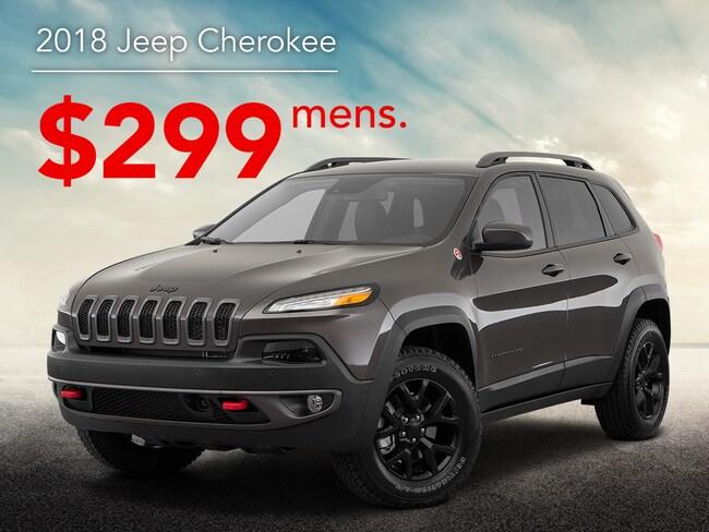 2018 Jeep Cherokee SAV
