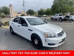 2011 Chevrolet Caprice Police Sedan