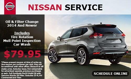 Nissan Service Specials San Leandro, CA