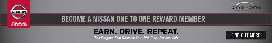 Nissan One To One Rewards Concord, CA. Nissan. One ...