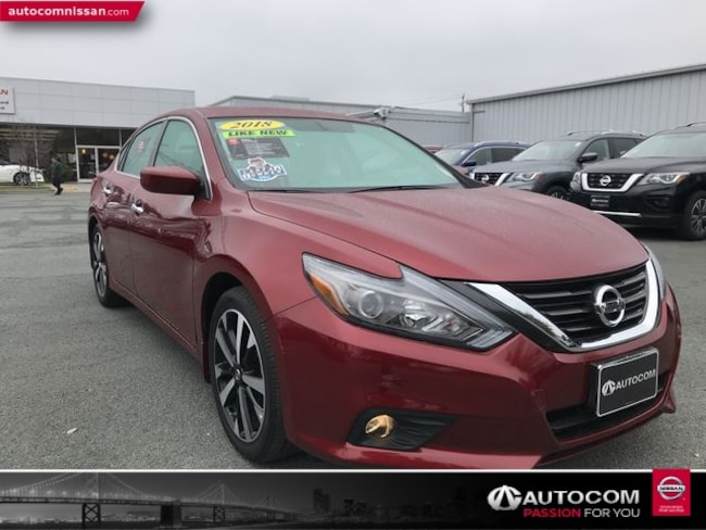 Certified Used 2018 Nissan Altima 2.5 SR Sedan in Walnut Creek, CA