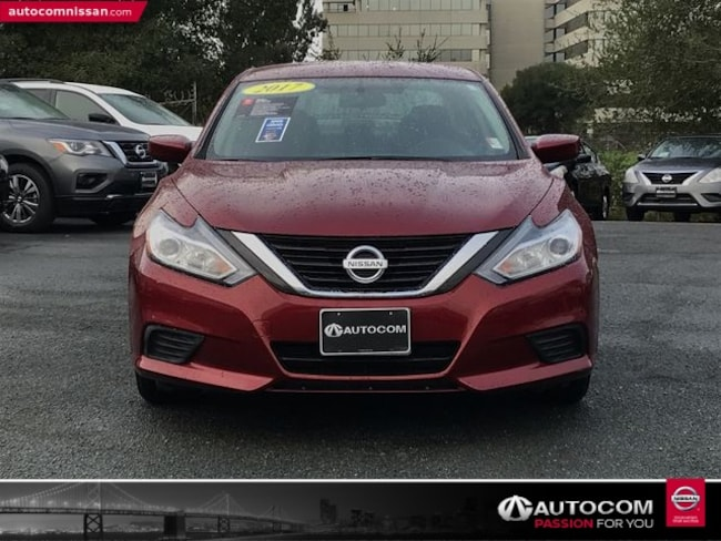Certified Used 2017 Nissan Altima 2.5 S Sedan in Walnut Creek, CA