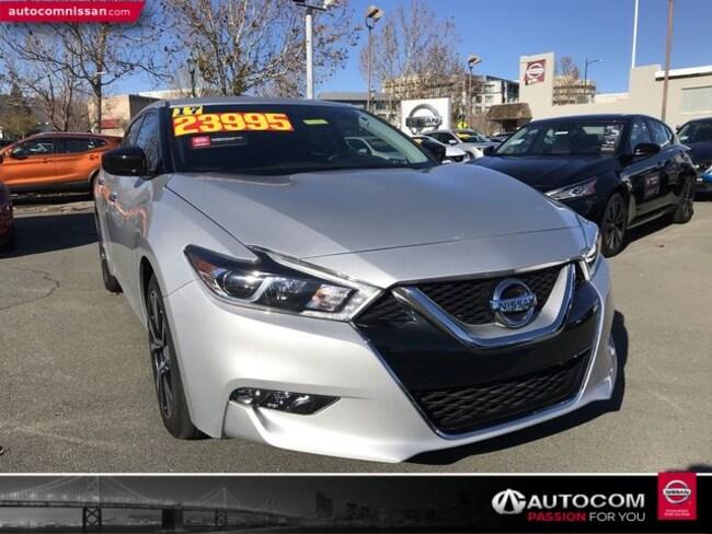 Certified Used 2017 Nissan Maxima 3.5 S Sedan in Walnut Creek, CA