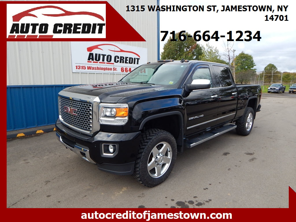 2015 GMC Sierra 2500HD Crew Pickup