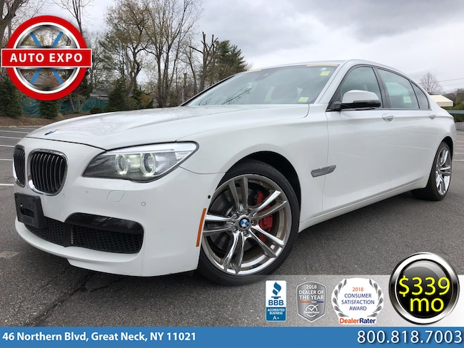 2014 BMW 7 Series 750Li XDrive M Sport Sedan