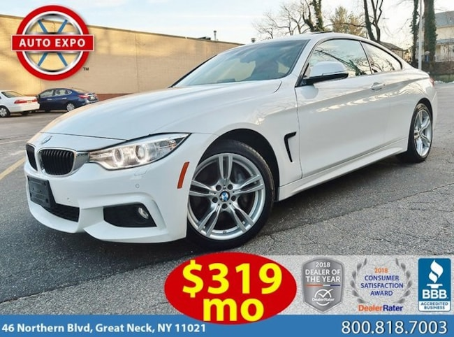 Used 2016 BMW 4 Series 428i Xdrive Coupe For Sale Great Neck, NY