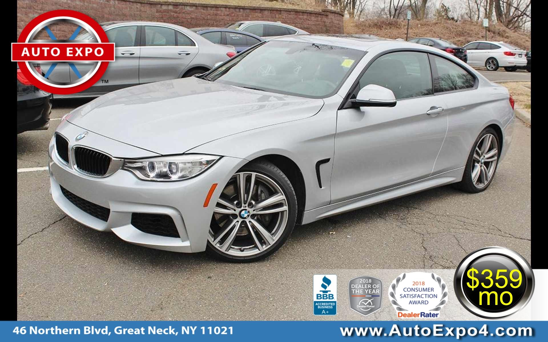 2015 BMW 4 Series 435I M Sport Coupe