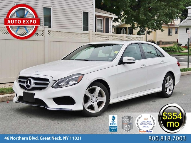 Used 2015 Mercedes-Benz E-Class E 350 4MATIC Sedan For Sale Great Neck, NY