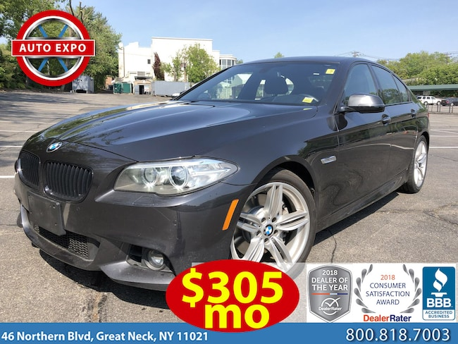 Used 2015 BMW 5 Series 535I M Sport Sedan For Sale Great Neck, NY