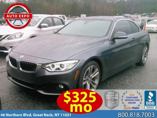 Used 2016 BMW 4 Series 428i Convertible For Sale Great Neck, NY