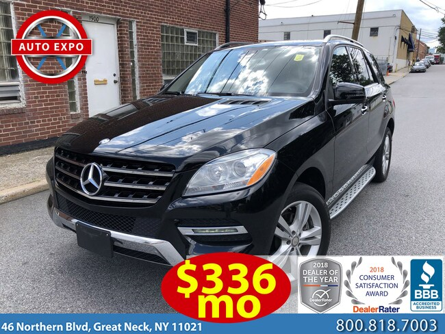Used 2015 Mercedes Benz M Class For Sale Great Neck Ny Stock