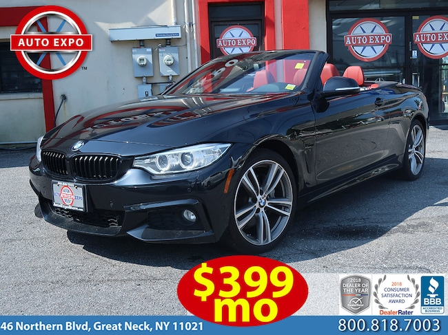 Used 2015 BMW 4-Series 435I Xdrive M Sport Convertible For Sale Great Neck, NY