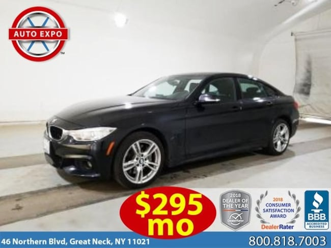 Used 2016 BMW 4 Series 428i Xdrive Gran Coupe Hatchback For Sale Great Neck, NY