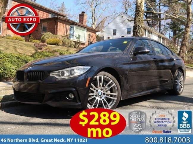 Used 2016 BMW 4 Series 428i Gran Coupe Hatchback For Sale Great Neck, NY