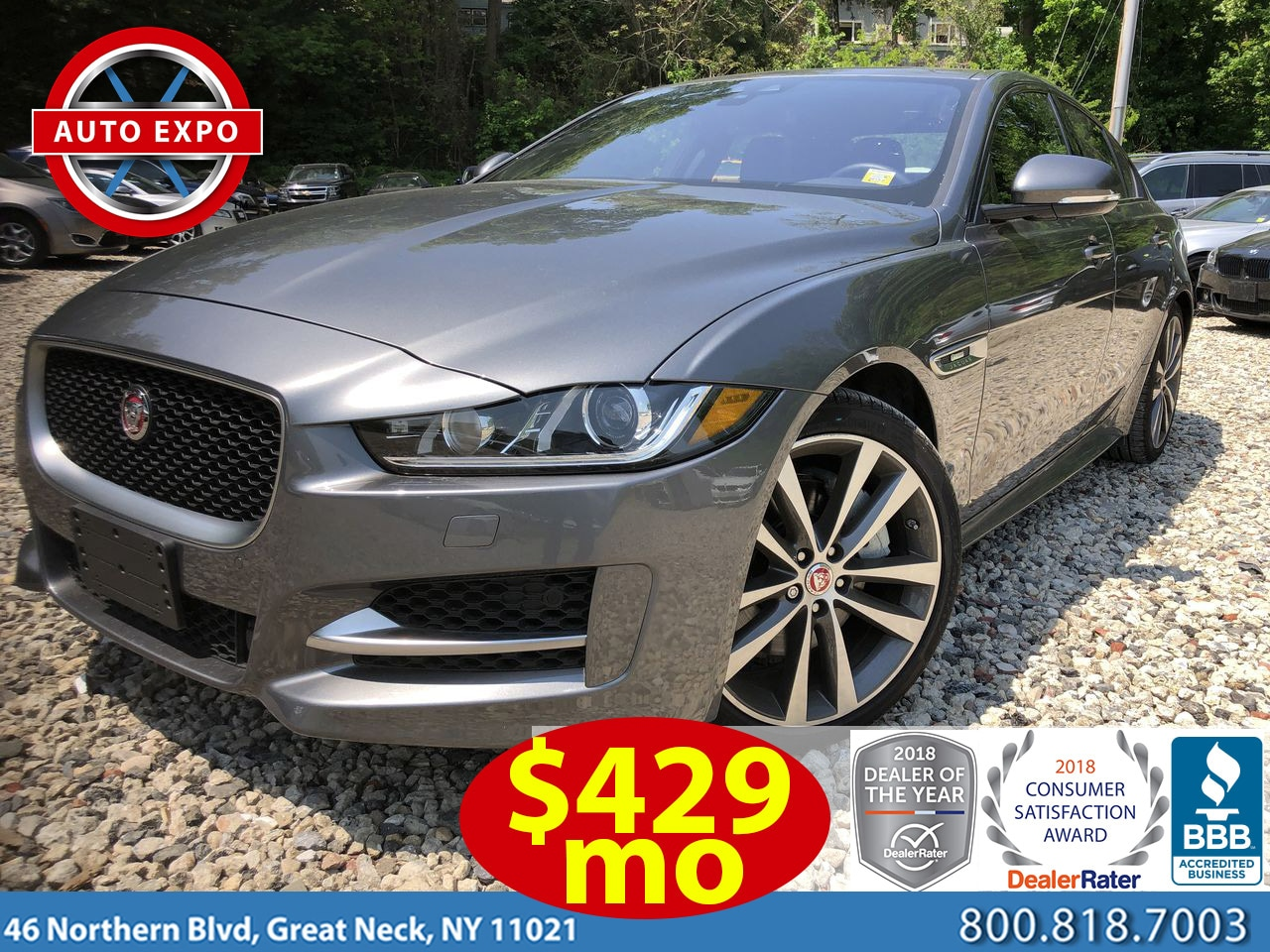 Used 2017 Jaguar XE R Sport Sedan For Sale Great Neck, NY