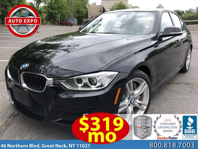 Used 2015 BMW 3 Series 335i M Sport Package Sedan For Sale Great Neck, NY