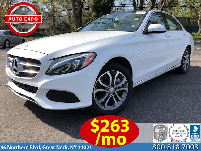 Used 2015 Mercedes-Benz C-Class C300 4MATIC Sedan For Sale Great Neck, NY