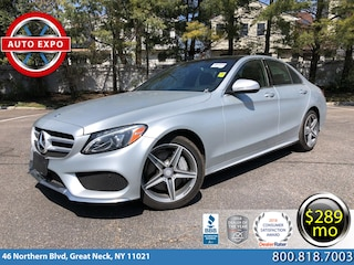 Used 2015 Mercedes-Benz C-Class C 300 4MATIC Sedan For Sale Great Neck, NY