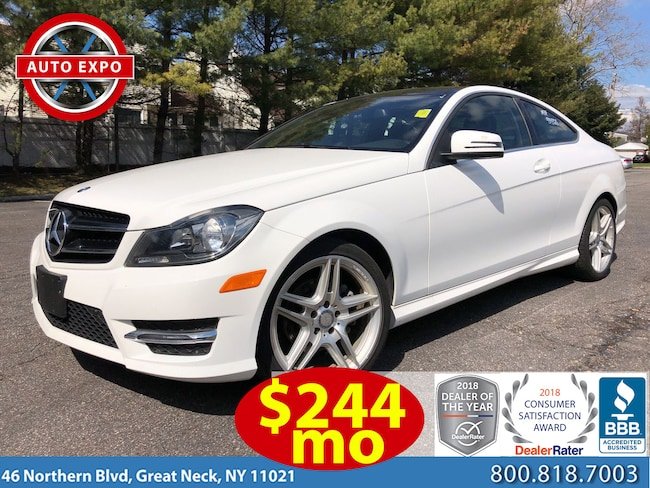 Used 2015 Mercedes-Benz C-Class C250 Sport Package Coupe For Sale Great Neck, NY