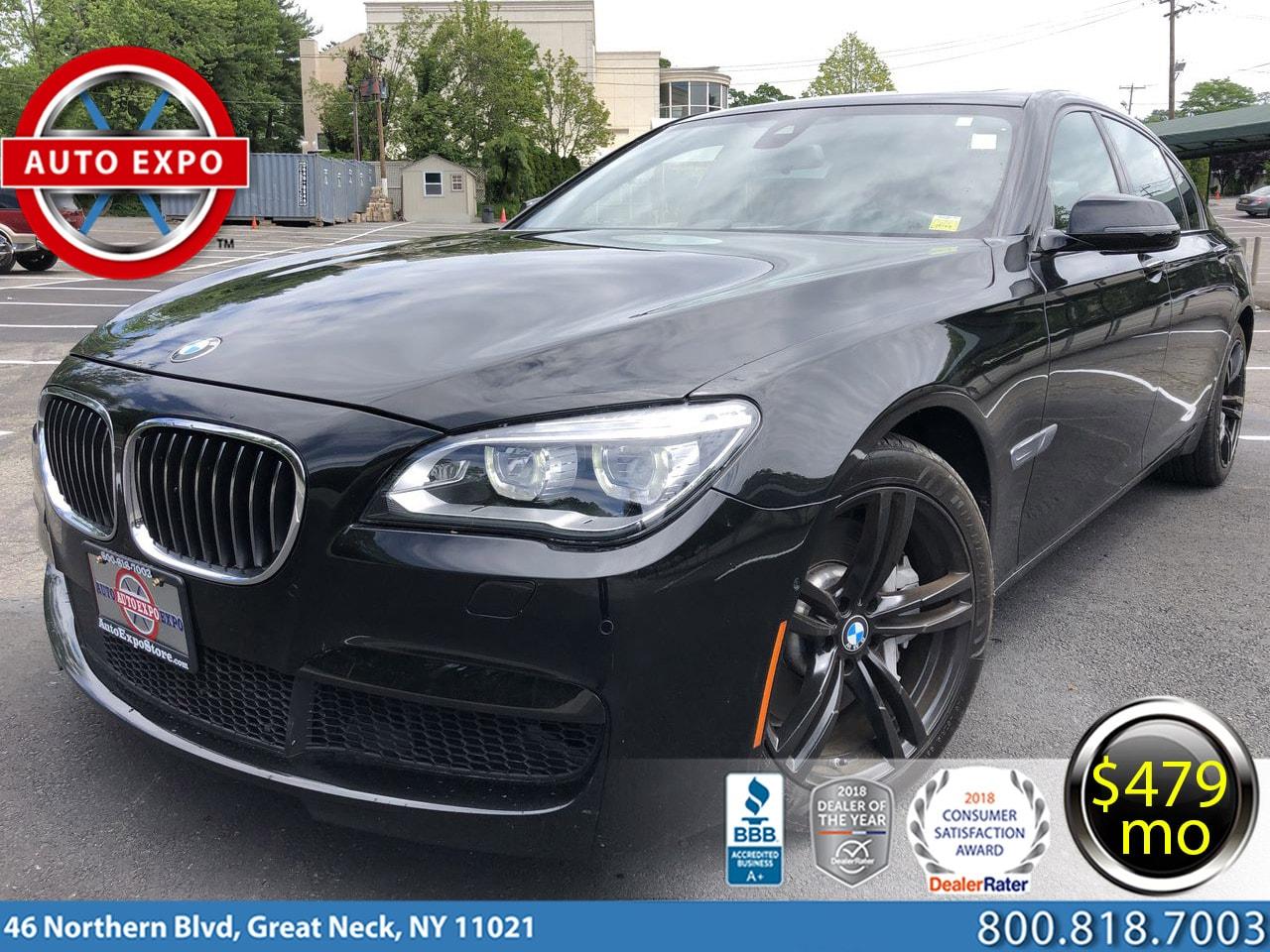 2015 BMW 7-Series 750LI M Sport Sedan
