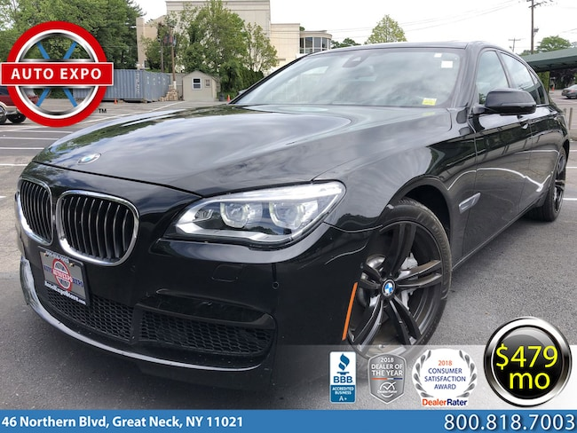 Used 2015 BMW 7-Series 750LI M Sport Sedan For Sale Great Neck, NY
