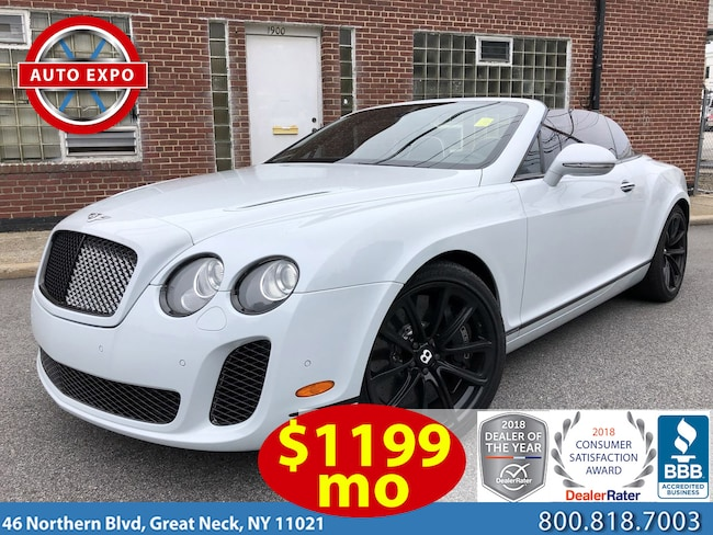 Used 2011 Bentley Continental Super Sport For Sale Great Neck Ny