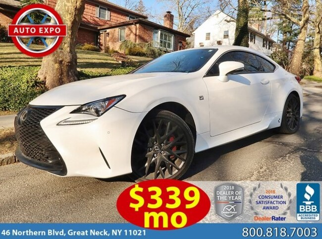 Used 2016 LEXUS RC 300 Coupe For Sale Great Neck, NY