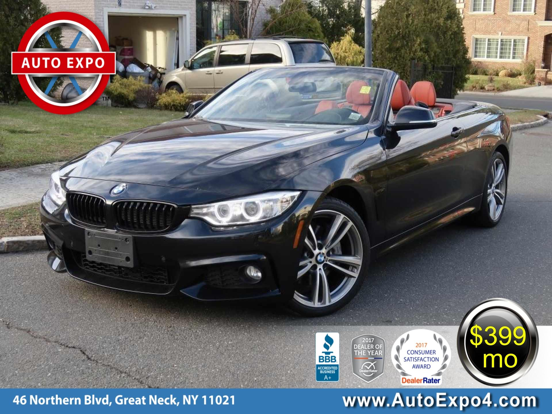 2015 BMW 4-Series 435I Xdrive M Sport Convertible
