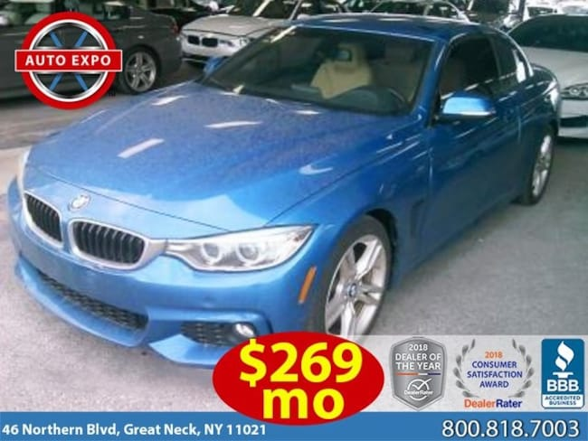 Used 2015 BMW 4 Series 428i Convertible For Sale Great Neck, NY