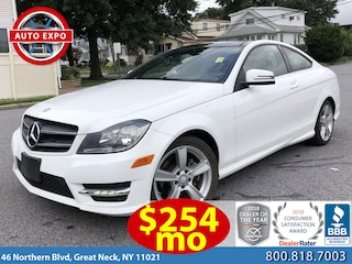 Used 2015 Mercedes-Benz C-Class C 250 Coupe For Sale Great Neck, NY