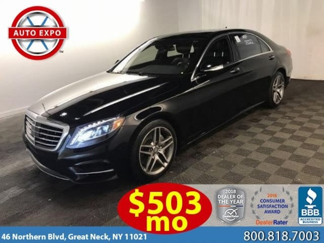 Used 2016 Mercedes-Benz S-Class S 550 Sedan For Sale Great Neck, NY