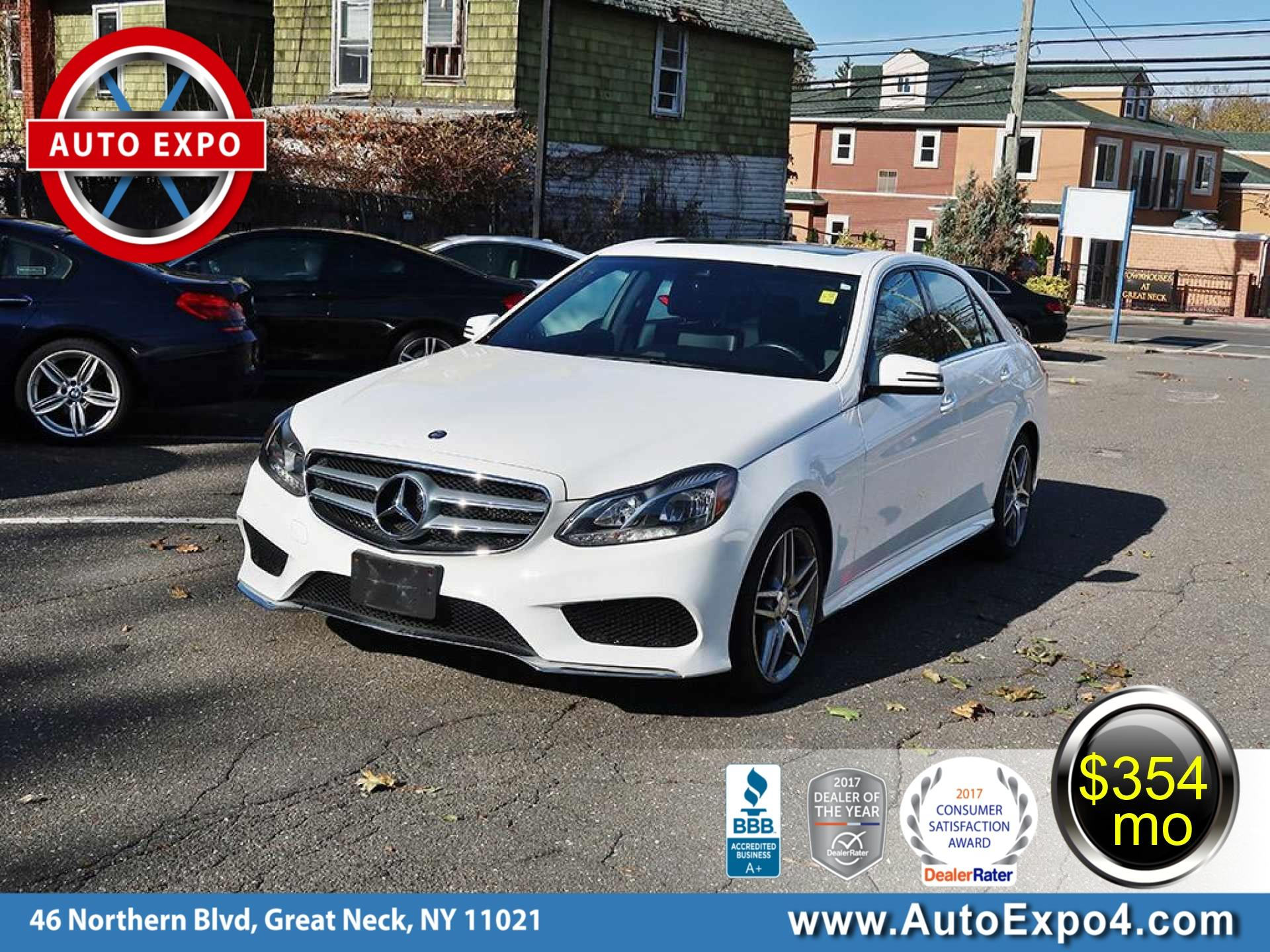 2015 Mercedes-Benz E-Class E350 4MATIC Sport PKG Sedan