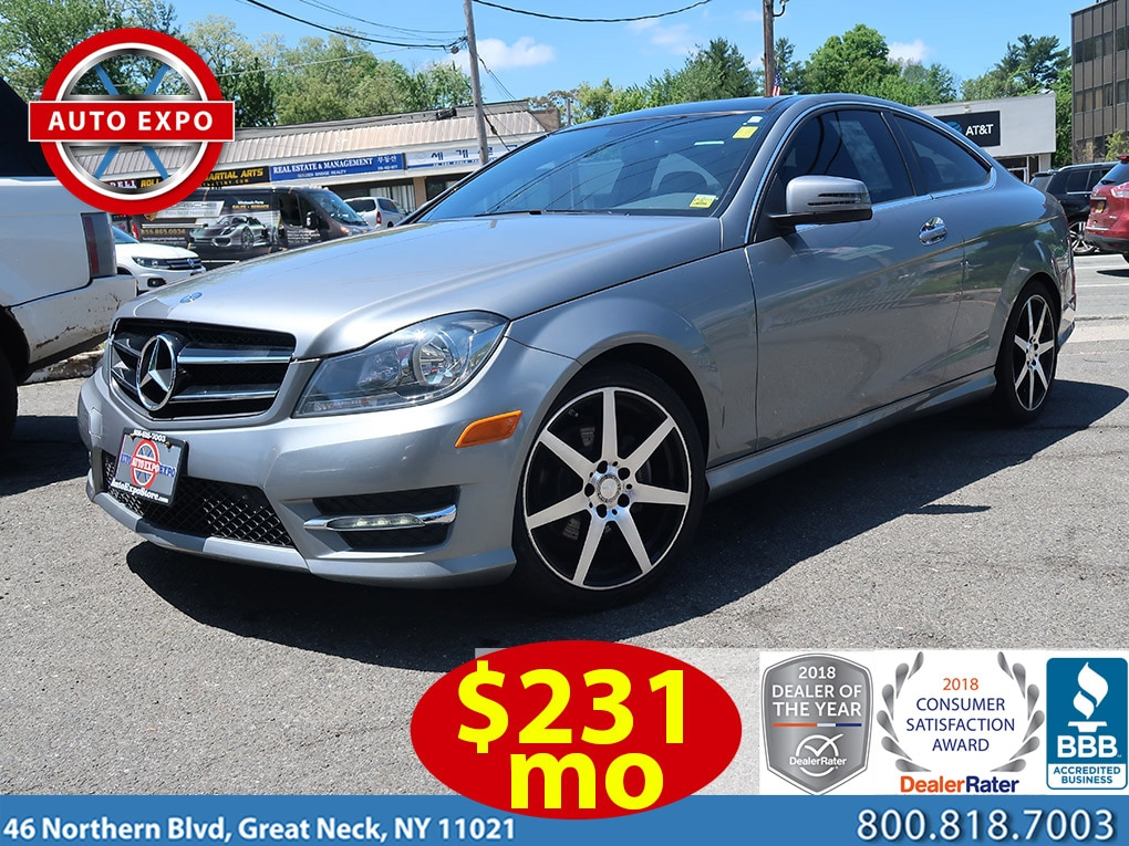 2015 Mercedes-Benz C-Class C250 Sport Apperance Package Coupe